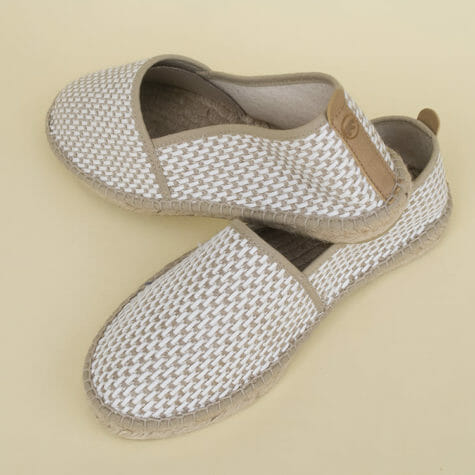 Recycled cotton espadrilles