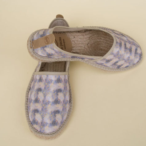 espadrilles made from recycled plastic fabrics